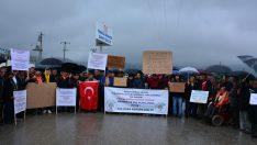 Uygur'dan akü tesisine tepki