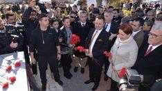 Menemen'de Çakıroğlu Parkı'nı Meral Akşener açtı