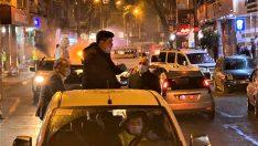 Başkan Kılıç Araca bindi sokakları ilaçladı