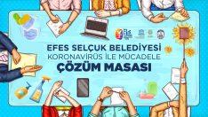 EFES SELÇUK BELEDİYESİ ÇÖZÜM MASASI'NDAN KORONAVİRÜSE KARŞI ÖNLEMLER