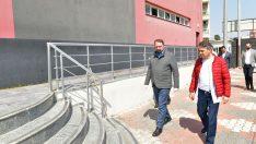 Çiğli'de Spor Tesisinin Misafirhanesi Sağlık Emekçilerine Açıldı