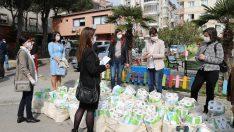 Gaziemirli kadınlar dernek çatısı altında yardıma koşacak