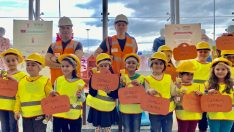 Özdilek İzmir AVM' den Çocuklara Deprem Eğitimi ve Deprem Çantası Hazırlama Atölyesi