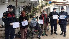 Urla'da yaşlılara ve ihtiyaç sahiplerine eve hizmet