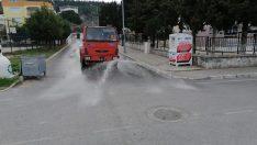 ALİAĞA'DAKİ TÜM MAHALLELER DEZENFEKTE EDİLİYOR