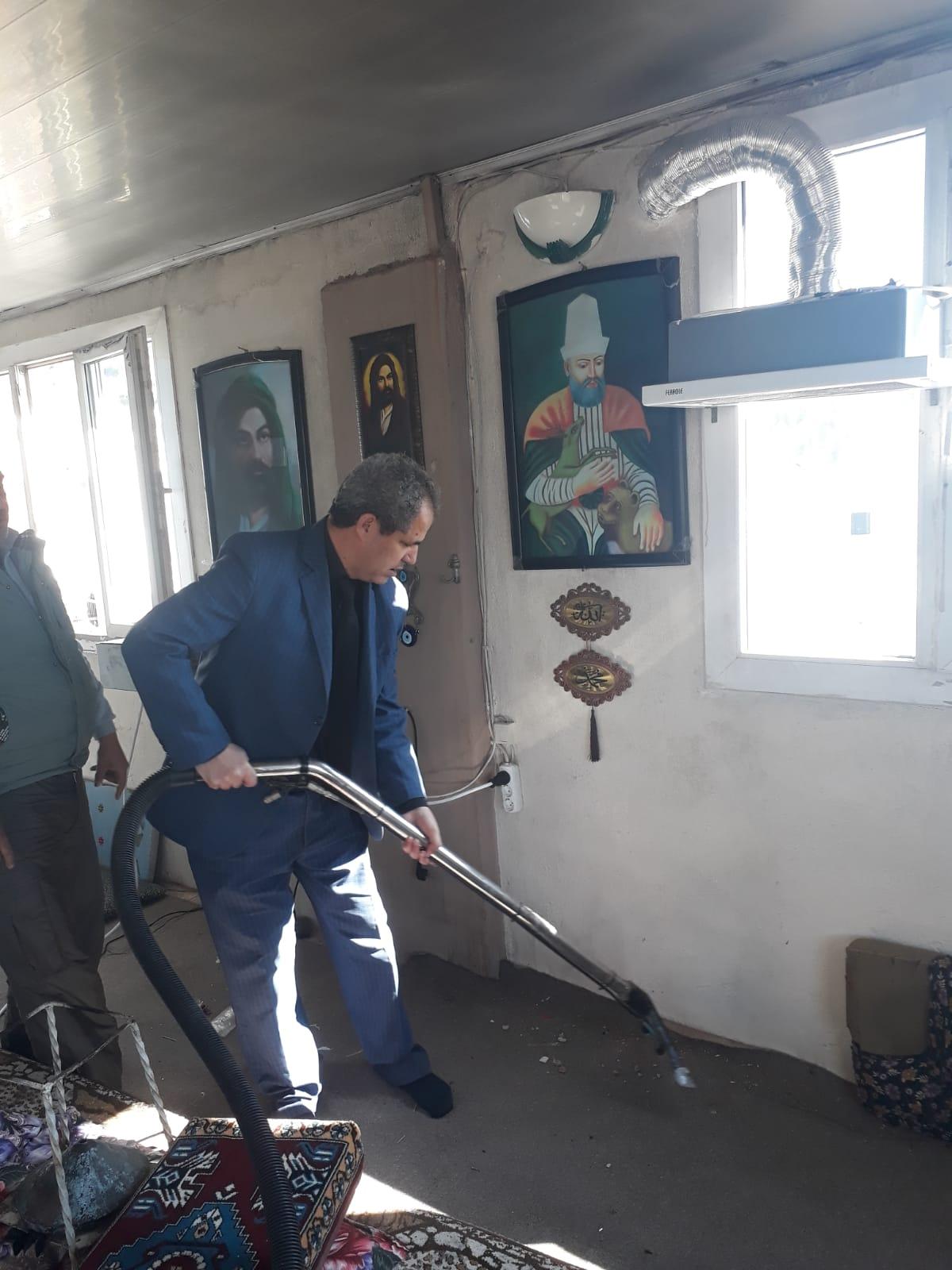Bergama'da cami, ibadethane temizleme ekibi oluşturuldu