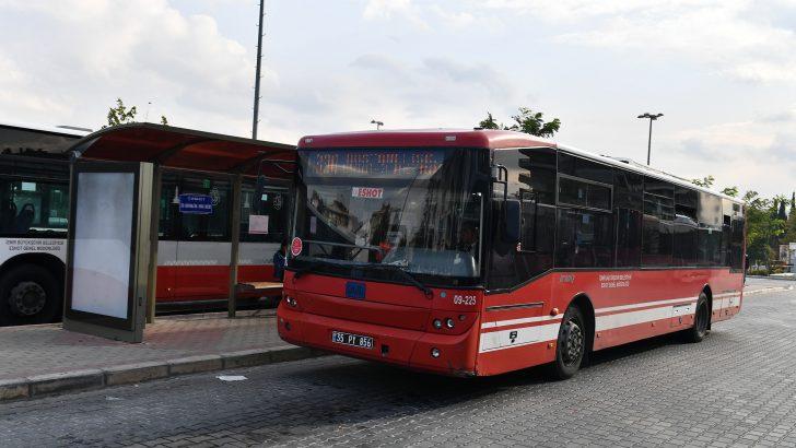 İzmir'de otobüs sayısı azaltılmıyor