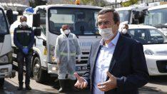 Başkan Batur'dan personele moral ziyareti