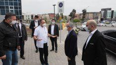 Başkan Sürekli'den sağlık çalışanlarına moral ziyareti