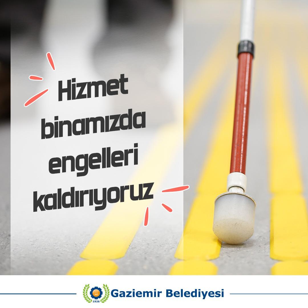 Gaziemir'de herşey engelliler için