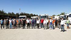 """Seferihisar Belediyesi'nde bu ay """"Ayın personeli"""" Temizlik işleri ekibi"""