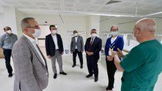 Bergama devlet hastanesi ek binası hizmete girmek için gün saymaya başladı