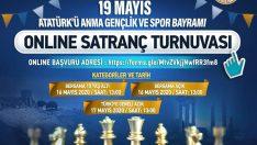 19 Mayıs anısına online satranç turnuvası Bergama bölümü sonuçlandı