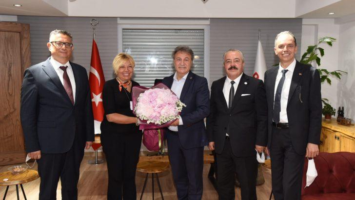 İTB'dan Başkan İduğ'a ziyaret