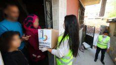 Bayraklı'da 16 bin aileye erzak desteği