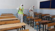 Gaziemir'in okulları sınava hazırlanıyor