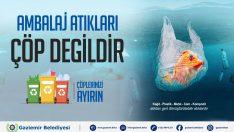 Gaziemir Belediyesi çevre sorunlarına dikkat çekti
