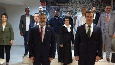 GELECEK PARTİSİNDEN CHP'YE ZİYARET