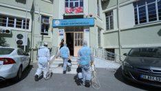 Konak'ta LGS öncesi  dezenfektan seferberliği