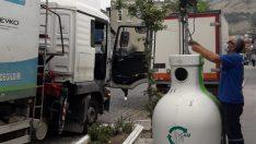Bir ay içinde 11 ton atık şişe toplandı