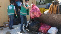 Konak'ta bir yılda 7 buçuk ton atık ilaç toplandı