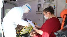 Bayraklı'da Pandemi sürecinde 'evde hasta ziyareti'
