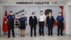 Başkan Batur'dan zabıtaya pandemi teşekkürü