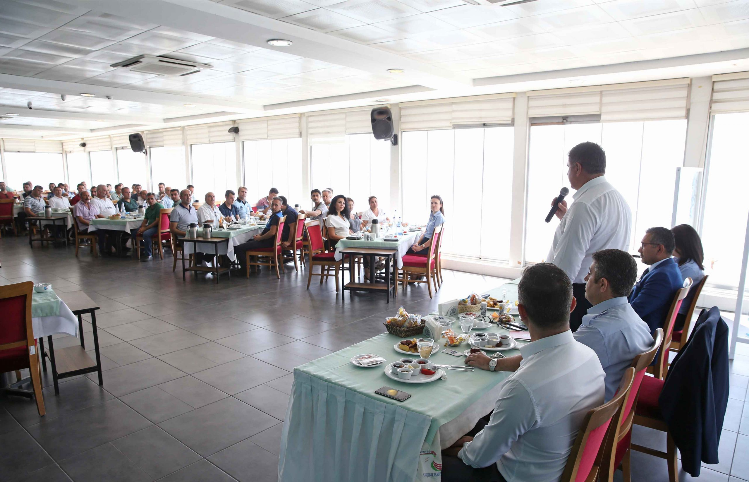 Karşıyaka Zabıtası'ndan 64 yıl kutlaması