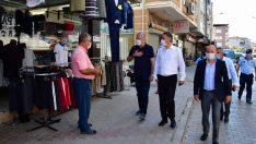 Narlıdere'de sokak sokak Covid-19 denetimi!
