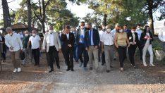Milletvekili Bedri Serter Menemen'de incelemelerde bulundu