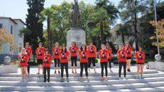 Gaziemir'in atletizm takımı ülke 5'incisi
