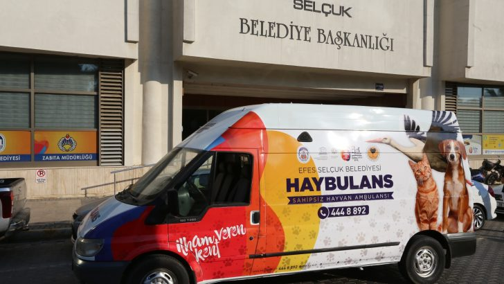 EFES SELÇUK'TA CAN DOSTLARININ HAYBULANSI HAZIR