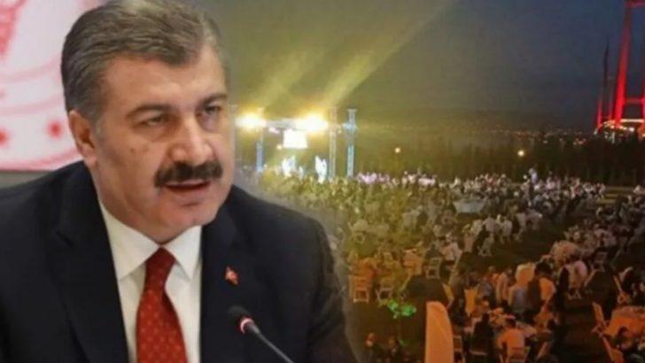 Bakan Koca, Ak Partili milletvekili oğlunun düğünü için konuştu