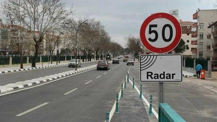 Trafikte Radarı görünce yavaşlamanıza gerek kalmayacak
