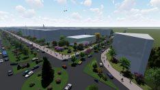 110 hektarlık alan model oluşturacak