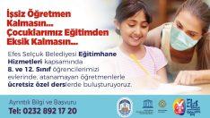 """EFES SELÇUK'TA """"EĞİTİMHANE"""" İLE ATANAMAYAN ÖĞRETMENLER ÖĞRENCİLERLE BULUŞUYOR"""