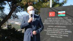 Karabağlar'dan Azerbaycan'a destek