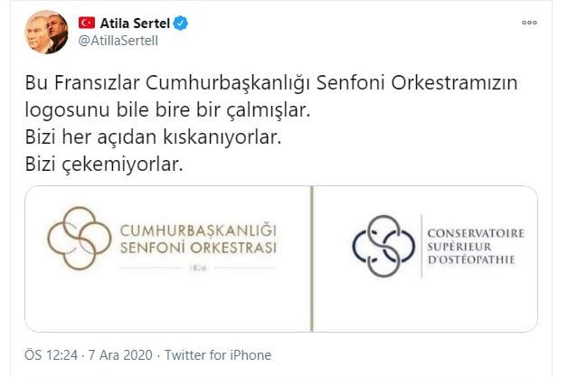 Cumhurbaşkanlığı Senfoni Orkestrası'nın logosu ile ilgili çarpıcı iddia