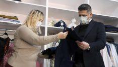 Menderes'te Giyim Bankası Açıldı