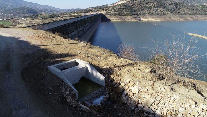 Beydağ Barajı'na can suyu