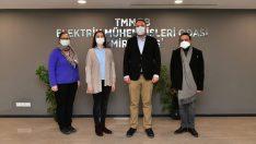 """Başkan Gümrükçü'den Meslek Odalarına  """"e-Ruhsat"""" Ziyareti"""
