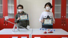 Kızılçullu Bilim ve Sanat Merkezi'nin miniklerine iki ödül birden