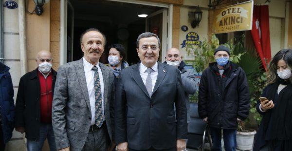 Otelcilerden Başkan Batur'a teşekkür
