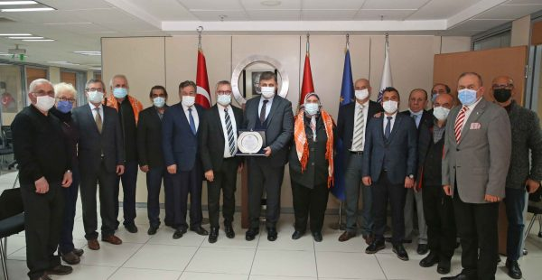 Manisa Dernekleri Birliği'nden Başkan Tugay'a ziyaret