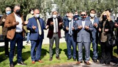 Hocalı Şehitleri Bornova'da anıldı