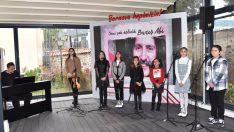 Bornova'da Barış Manço unutulmadı