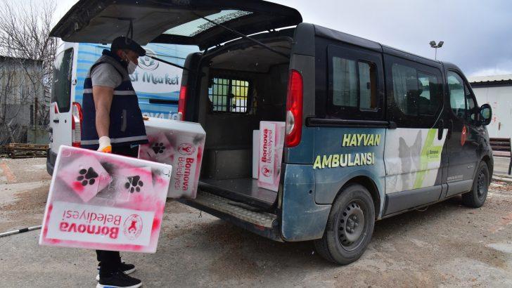 Bornova Belediyesi'nden Yürekleri Isıtan Hizmet