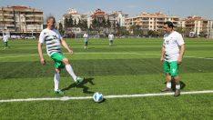 Gaziemir İlçe Stadı yeni yüzüyle hizmette