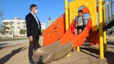 Menderes'e Yeni Parklar