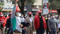 Buca'da tam kapanma öncesi erken 1 Mayıs